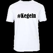 T-Shirt mit Aufdruck #Kegeln