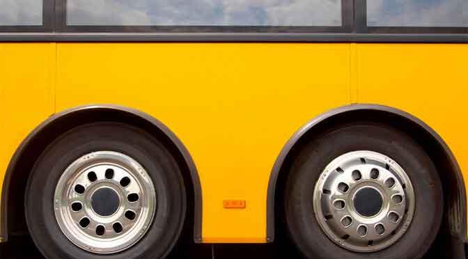 Kegelspiel Bus fahren