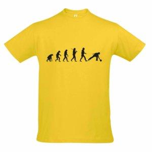 T-Shirt - EVOLUTION gelb