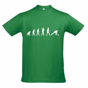 T-Shirt - EVOLUTION gruen