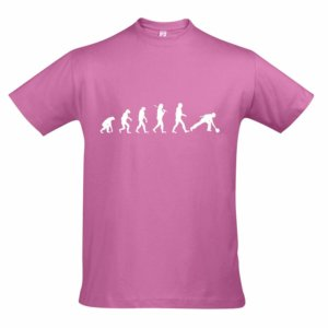 T-Shirt - EVOLUTION rosa