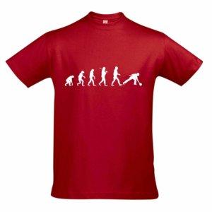 T-Shirt - EVOLUTION rot