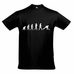 T-Shirt - EVOLUTION schwarz