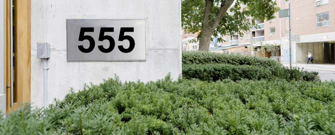 Hausnummer 555